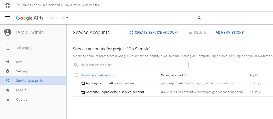 Deploying a GO application to Google Cloud via Docker and